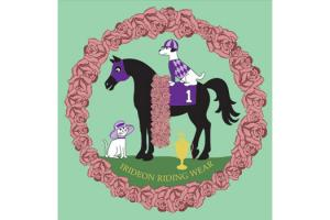 Irideon Kids Pup N Pony Tee in Mint Julep