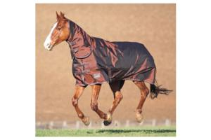 Shires Stormcheeta Heavy 400g Combo Turnout Rug in Brown