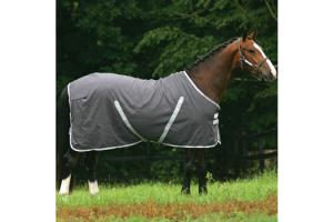 Rambo Stable Sheet in Charcoal Grey