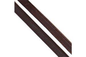 Arc De Triomphe Rubber Lined Reins in Brown