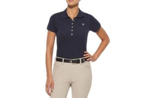 Ariat Women's Prix Polo in Navy Eclipse