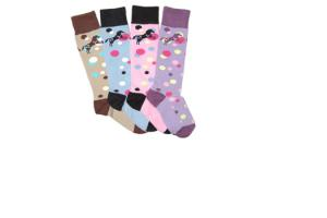 Ovation Child's Bubble Crew Socks in Pink
