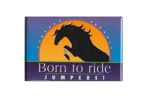 Born To Ride Jumpers Magnet