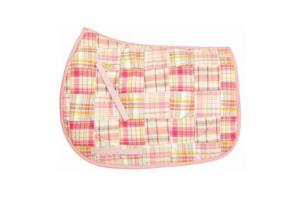 Equine Couture Mackenzie A/P Saddle Pad in Pink