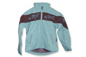 Eous Vienna Jacket in Blue and Chocolate