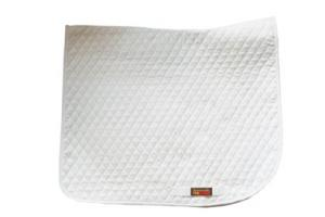 Fleeceworks Dressage Baby Pads in White