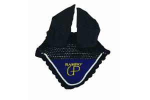 Rambo Grand Prix Ear Nets in Navy Blue and Beige