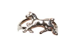 Trotting Horse Adjustable Ring