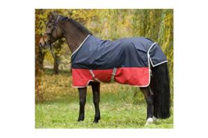 Amigo Mio Lite Turnout in Navy and Red