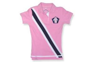 Equine Couture Bermuda Polo Shirt in Pink