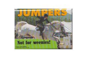 Jmpers Not For Weenies Magnet