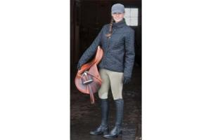 Kerrits Sit Tight N Warm WindPro Knee Patch Breeches in Tan