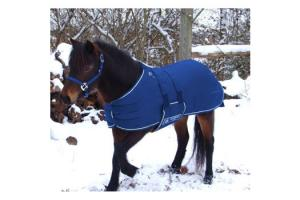 Kensington Miniature Navy Blue 240g Turnout Blanket