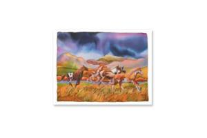 Southwestern Gallop Note Cards