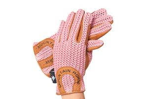 Mountain Horse Ladies Crochet Gloves in Pink