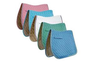 Roma Ecole Swirl Quilt Close Contact Saddle Pad