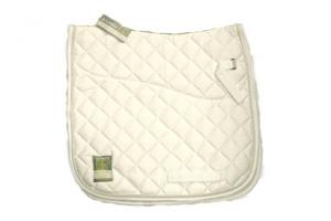 Rambo Grand Prix Show Jumping Saddle Pad in White and White