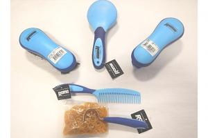 Roma Bagged Grooming Kit in Assorted Colors