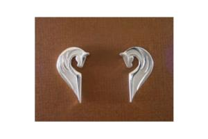 Loriece Sterling Silver Spirit Horse Earrings