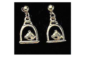Stirrup & Horse Head Earrings