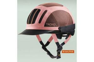 Troxel Sierra Riding Helmet in Brown