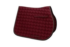 Toklat Tango Wave GP Saddle Pad in Ruby and Brown