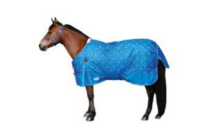 Weatherbeeta Pony 600D Standard Neck Lite Turnout Sheet in Snowflake