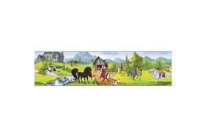Horseland Scenic BT2741BD Wallpaper Border by York