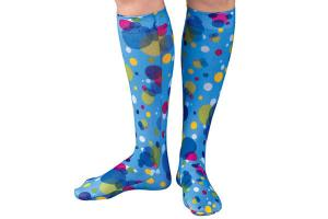 Zocks Childs Boot Socks Bubble Dots 1202