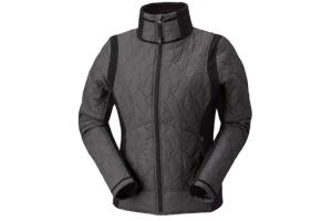 Kerrits EQ Moto Quilted Jacket in Mercury