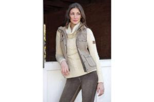 Goode Rider Performance Vest in Khaki