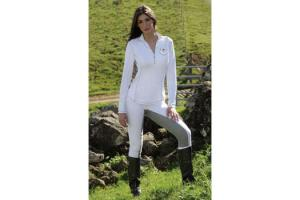 Goode Rider Long Sleeve Ideal Tech Shirt in White