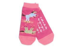 Hatley A Roll In The Hay No Slip Adult Ankle Sock