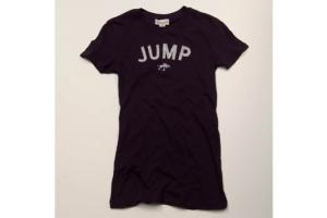 Stirrups Jump Tee Shirt in Navy