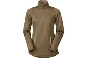 Kerrits Heathered Half Zip in Flaxen