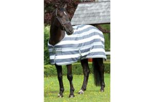 Rambo Newmarket Stable Rug in Whitney Charcoal