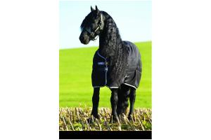 Rambo 200g Stable Rug in Black and  Grey