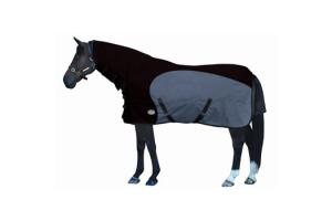Weatherbeeta Original 1000D Stretch Combo Medium 220g Turnout in Black and Grey